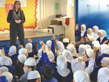 Pupils get an introduction to the Christian faith