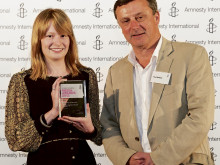 Prestigious prize for student journalist
