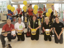 Six-hour pedal push for Air Ambulance
