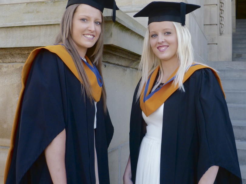 Students graduate in style at Town Hall