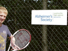 Tennis ace Tom smashes record