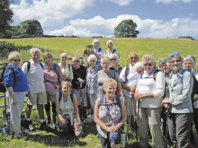 Centenary Ramblers launch new route