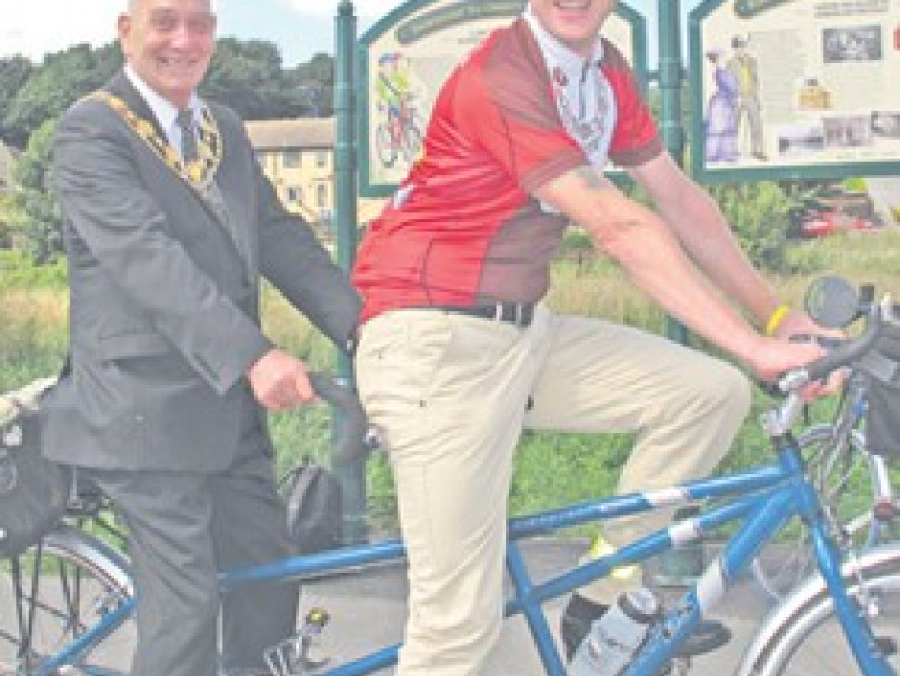 MAYOR WANTS MORE CYCLE GREENWAY ROUTES