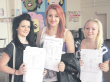 Earlsheaton Tech pupils celebrating best-ever results