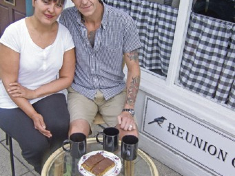 Cafe couple plan to tie the knot after school get-together