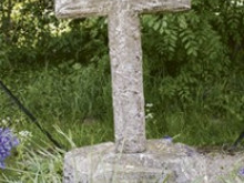 Unearthed plague cross to go on display