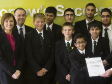 Batley school's on the rise