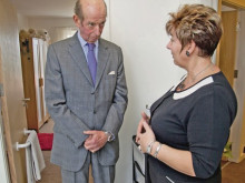 Woodland Court gets visit from Duke of Kent