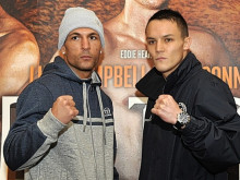 Trainer and father predicts a short night's work for Central star Josh Warrington