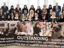Batley Girls celebrates outstanding Ofsted