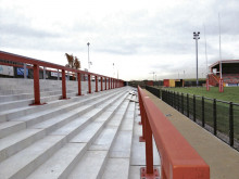 New stand close to completion at Dewsbury