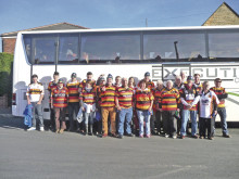 Rams fans enjoy trip to RL World Cup Final
