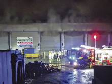 Tip site closed after serious fire