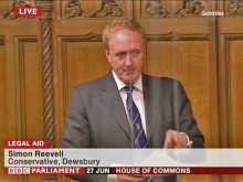 Legal career has its benefits, says MP Reevell