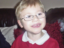 Life-changing op could help six year-old Sam to walk