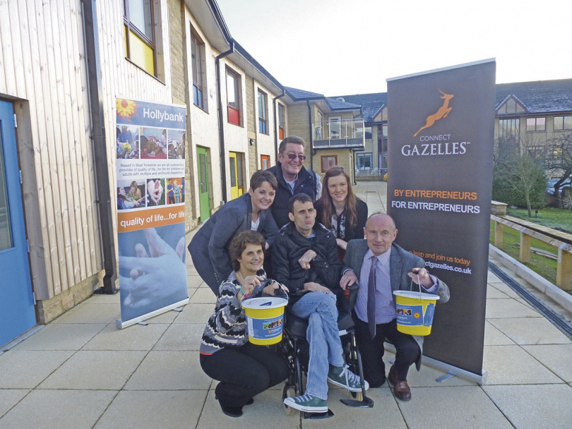 Gazelles leap to the aid of Hollybank