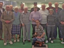 Big-hearted Andy's firm steps in to save blind bowls club