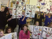 Talented Battyeford youngsters putting on a multi-media show
