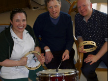 New rehab project is music to staff's ears