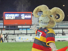 Rams run riot in Morrison's first derby win