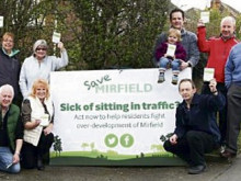 Mirfield protestors won't give up battle of Bellway