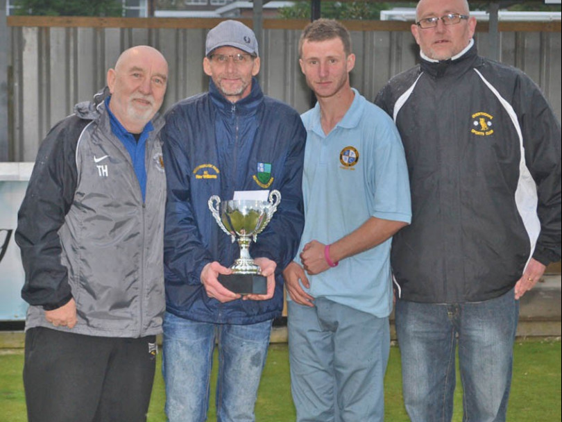 Sheffield duo claim father and son trophy