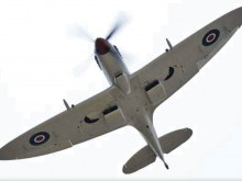 Spitfire flypast the highlight of Batley's vintage day