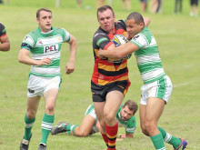 Olpherts stars as Sharks cruise to derby points