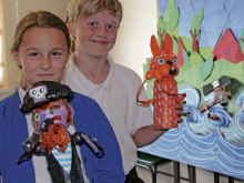 Pupils create sequel to their animation hit