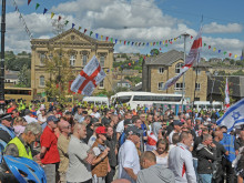 Police presence ensures EDL rally passes without a hitch