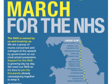 Rallies organised to support NHS march