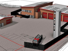 Ceremony marks start of work on new fire station