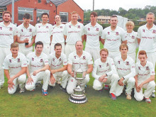 Cleck lift trophy in final day washout