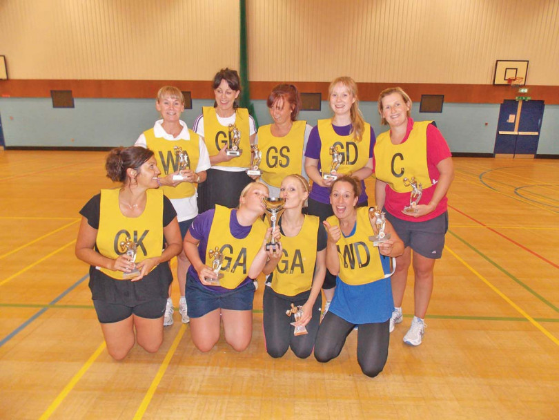 Mirfield Netball clinch title
