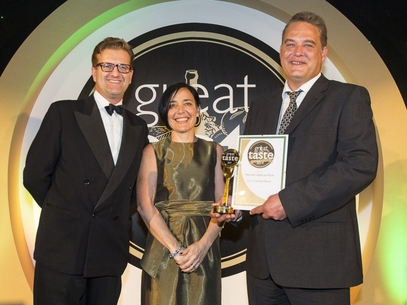 Butchers' bacon a sizzling success...