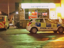 Knife raid at Co-op store