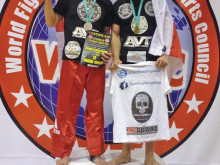 Medal haul for AVT's deadly duo in Croatia