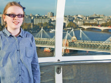 Lily is flying high with prize ride on the London Eye