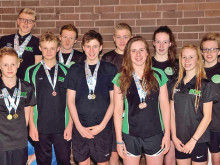 BOK swimmers collect impressive medal haul