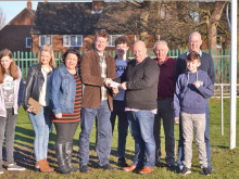 'Jenno' donation boost for Overthorpe Sports Club