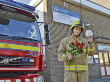 Fireman Will's red-hot message for Valentine's Day