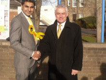 Change is coming, says Lib Dem choice taking on MP Reevell