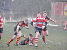 Kestrels secure comfortable derby win