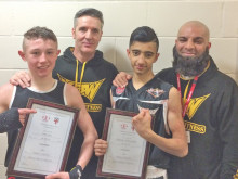 KBW Boxing Club pair claim Yorkshire titles