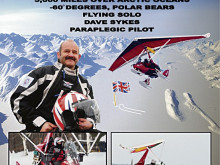 Pole star Dave's 5,000-mile solo trip to Arctic ... in a microlight