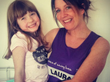 Marathon mum battling to raise meningitis awareness