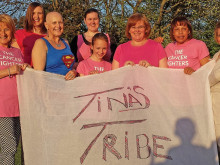 'Tina's Tribe' goes to war on cancer
