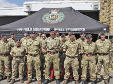Royal Engineers return to new base in North Kirklees