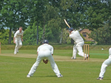 Cleckheaton knocked out of cup after four-wicket defeat