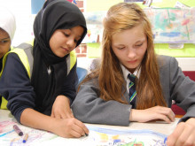 Pupils cross the 'divide' with new project